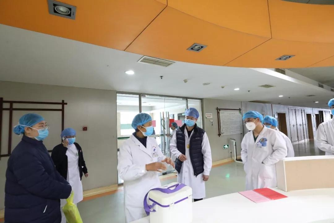 现场直击:潍坊市中医院为门急诊、住院患者筑牢安全防护线