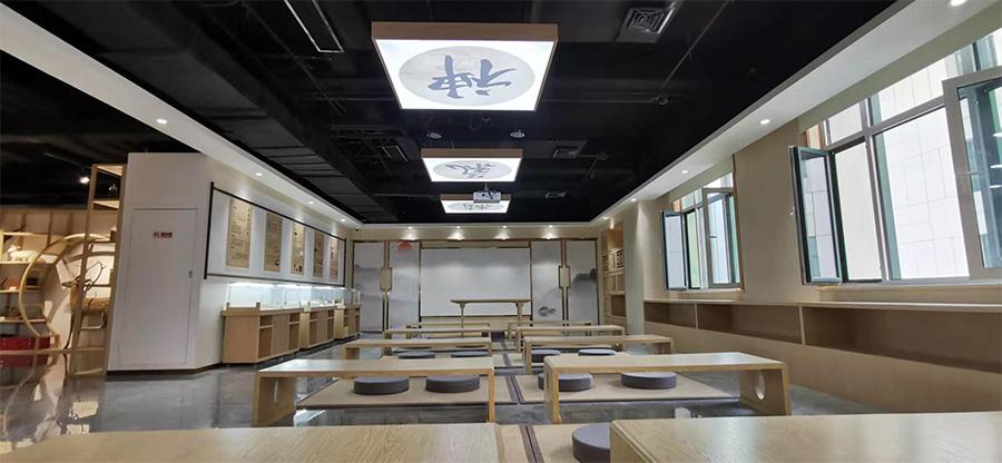 潍坊市中医药博物馆内部实景图片